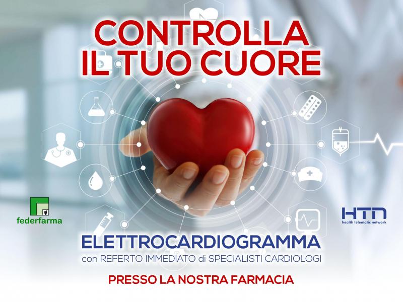 Novità Elettrocardiogramma in Farmacia