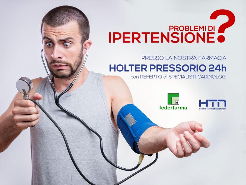 Novità Holter Pressorio in Farmacia